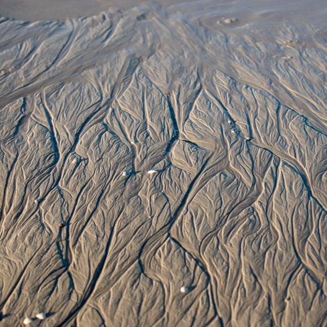 """Tiny river delta system"" stock image"