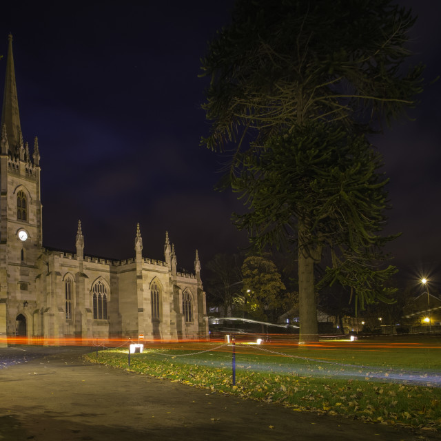 """St Marks Church Newtownards"" stock image"