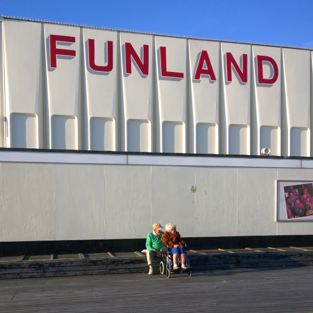 """Funland Southport"" stock image"