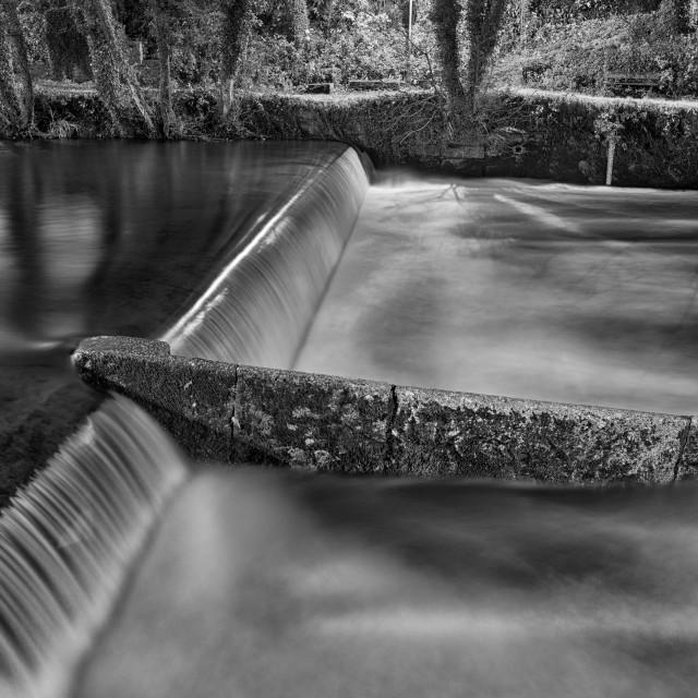 """River Tavy Long Exposure 2"" stock image"