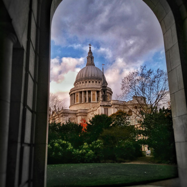 """""""St Pauls Cathedral"""" stock image"""