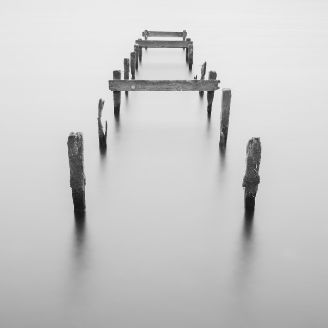 """""""Old Jetty"""" stock image"""