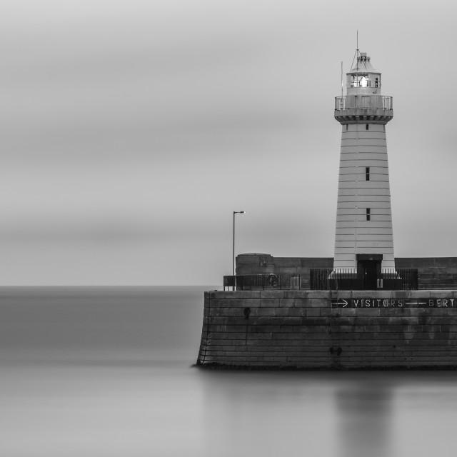 """""""Lighthouse Mono"""" stock image"""