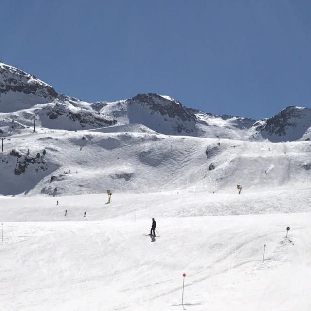 """Andorra ski slopes"" stock image"