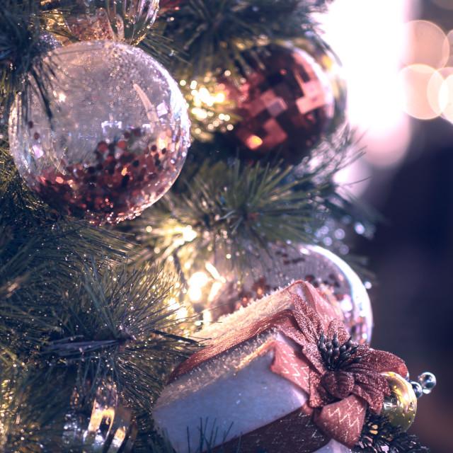 """Christmas close ups"" stock image"