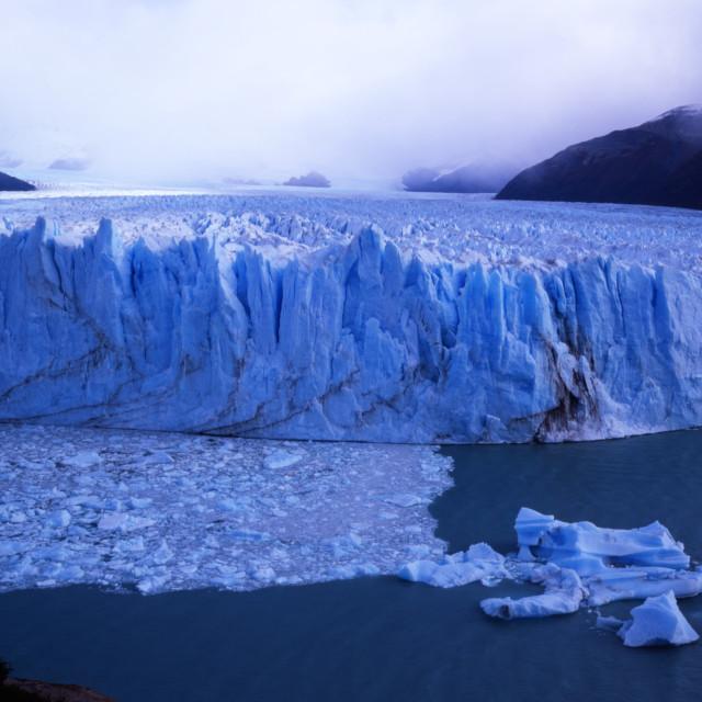 """""""Glaciar Perito Moreno"""" stock image"""
