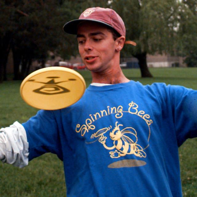 """Frisbee Expert"" stock image"