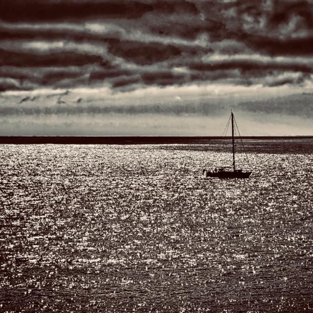 """The Fleet, Dorset"" stock image"