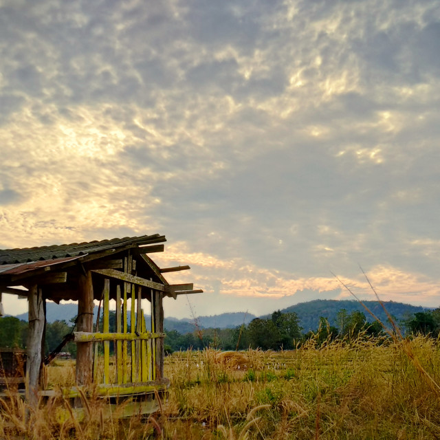 """""""sunset, countryside feel^^ 