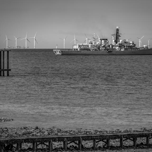 """""""HMS Somerset"""" stock image"""