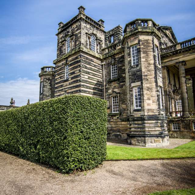 """""""Delaval Hall"""" stock image"""