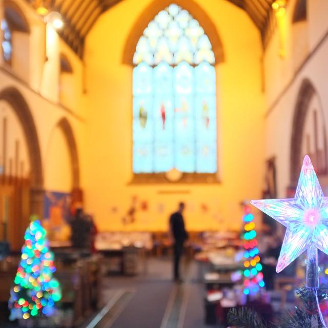 """Christmas Tree Festival"" stock image"