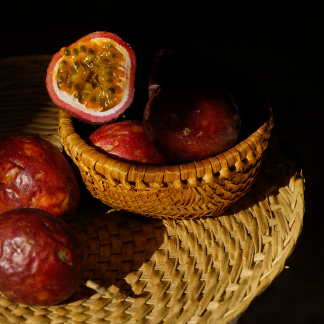 """""""Passionfruits"""" stock image"""