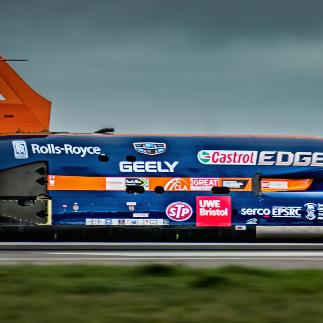 """Bloodhound SSC"" stock image"