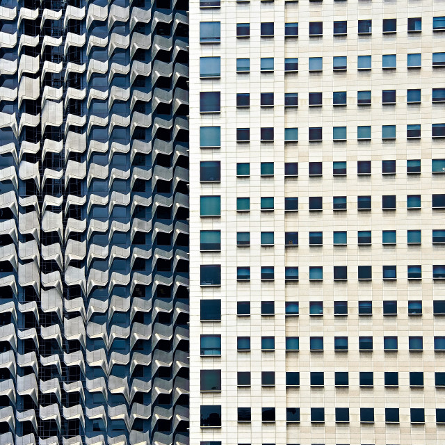 """""""Architectural Symbiosis"""" stock image"""