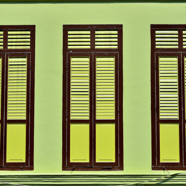 """""""Shutters and Windows"""" stock image"""