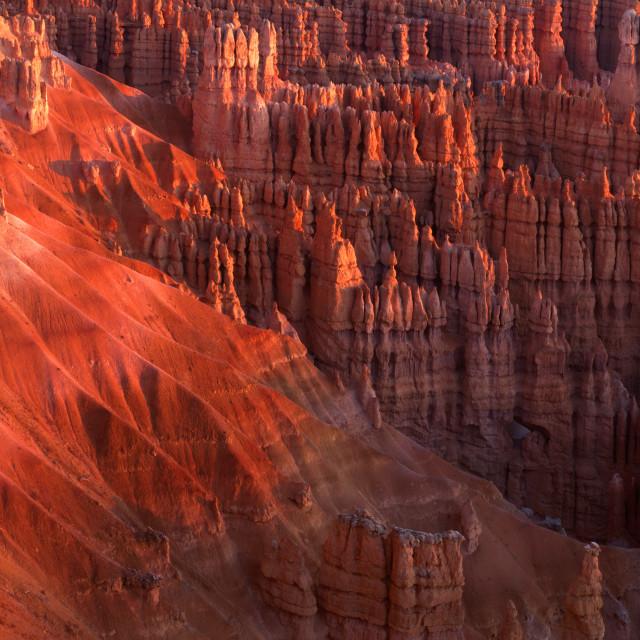 """Bryce Canyon at Sunrise"" stock image"