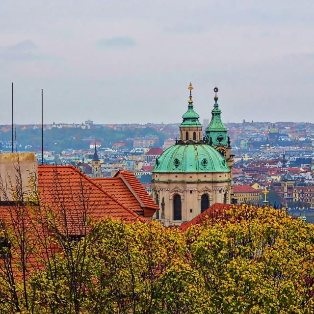 """City of Prague"" stock image"