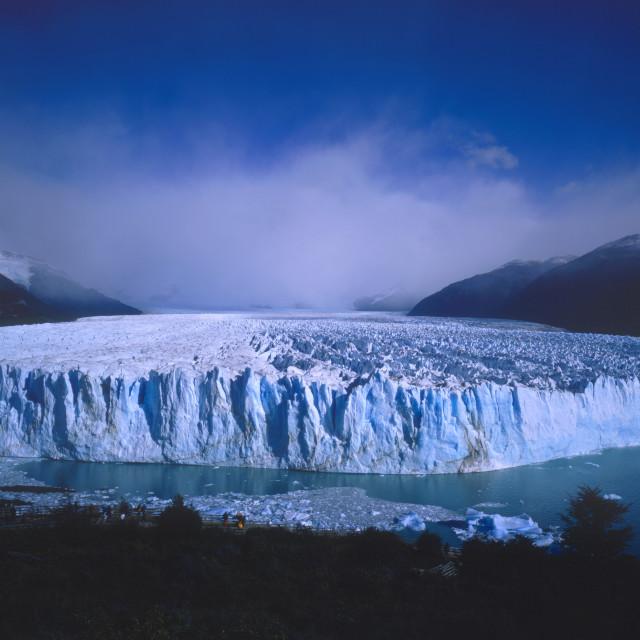 """""""Glaciar Perito Moreno Parque Nacional Los Glaciares"""" stock image"""