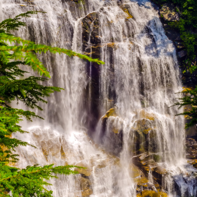 """Whitewater Falls in North Carolina"" stock image"