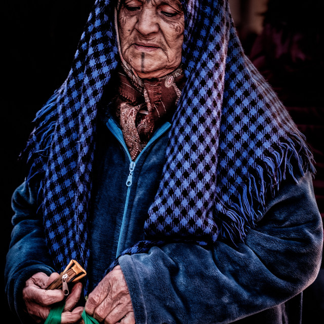 """Local Woman From Marrakech"" stock image"
