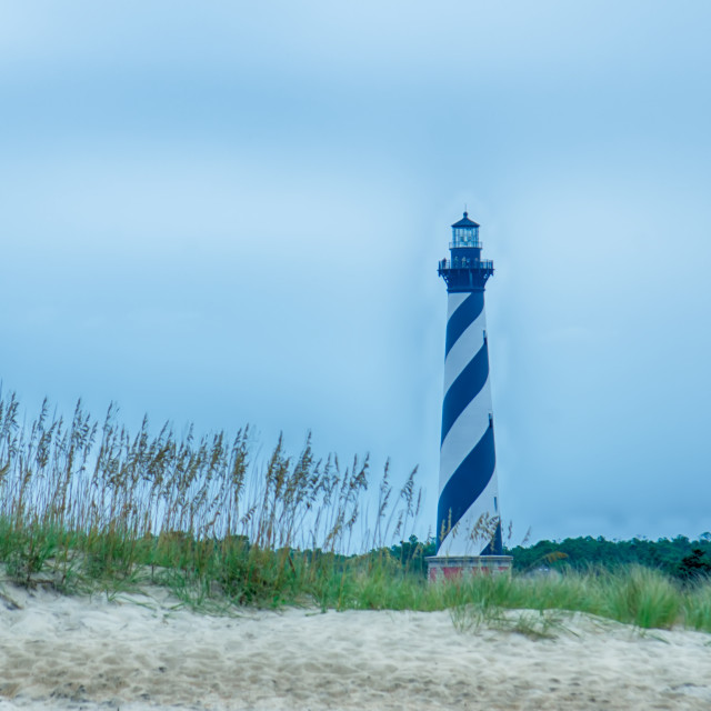 """""""Cape Hatteras Lighthouse, Outer banks, North Carolina"""" stock image"""