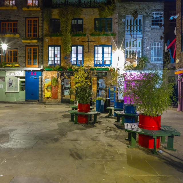 """Neil's Yard London"" stock image"