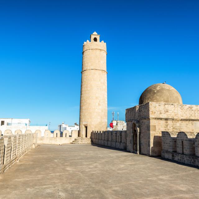 """The Ribat in Sousse, Tunisia"" stock image"