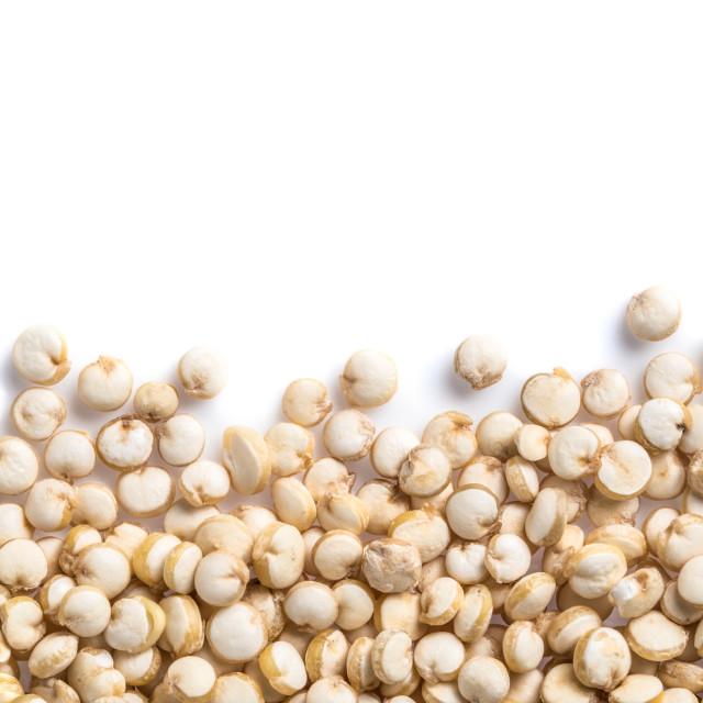 """Grain of quinoa"" stock image"
