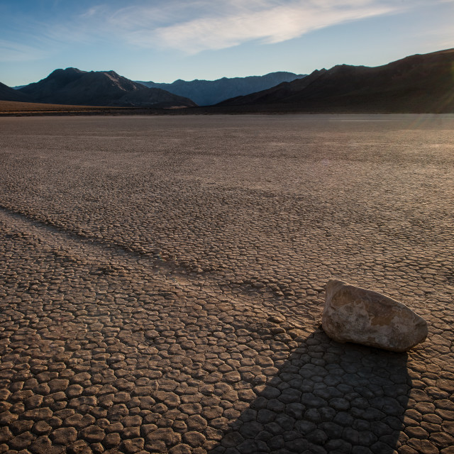 """Death Valley - U.S."" stock image"