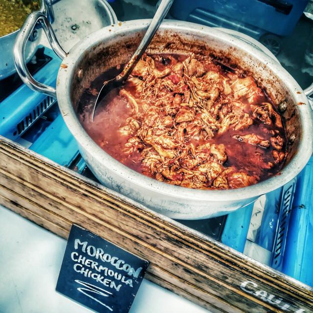 """Moroccan Street Food"" stock image"