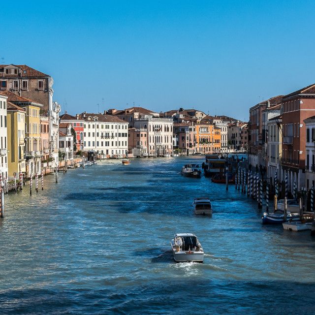 """The Grand Canal Venice"" stock image"