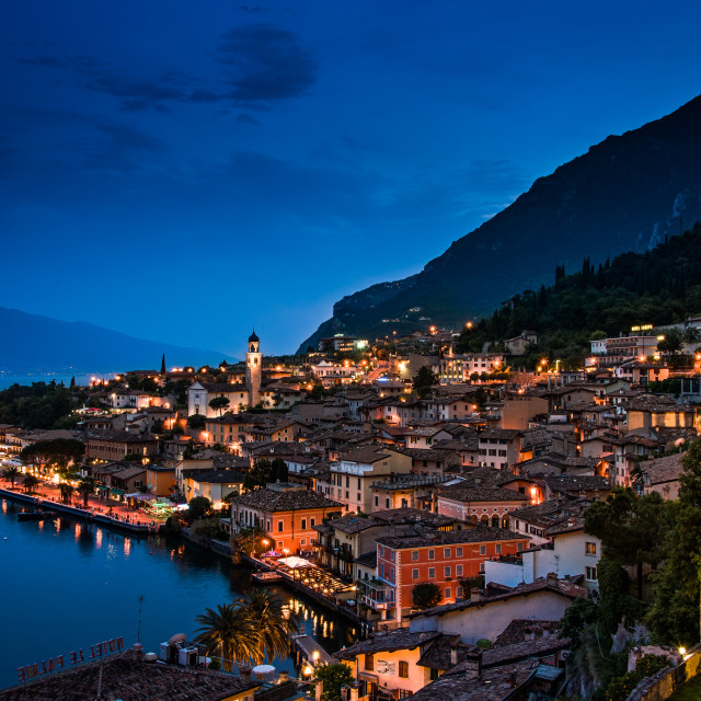 """Garda Lake - Italy"" stock image"