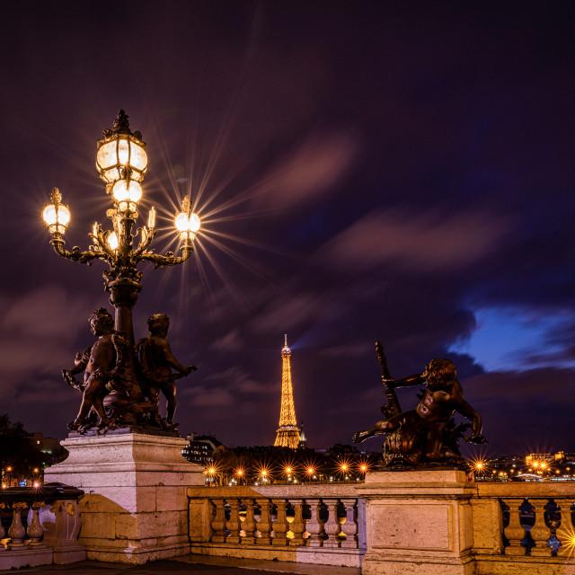 """""""Paris Cityscape"""" stock image"""