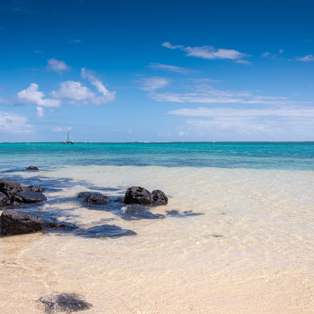 """""""Mauritius Clear Water"""" stock image"""