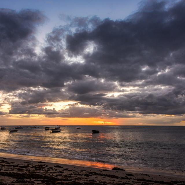 """""""Tamarin Beach - Mauritius"""" stock image"""