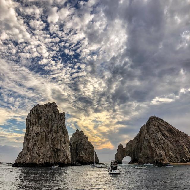 """""""El Arco de Cabo San Lucas"""" stock image"""