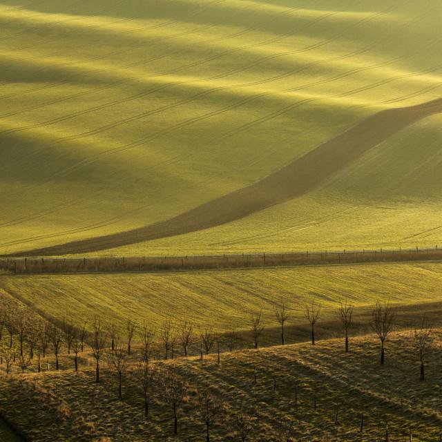"""Moravian waves"" stock image"