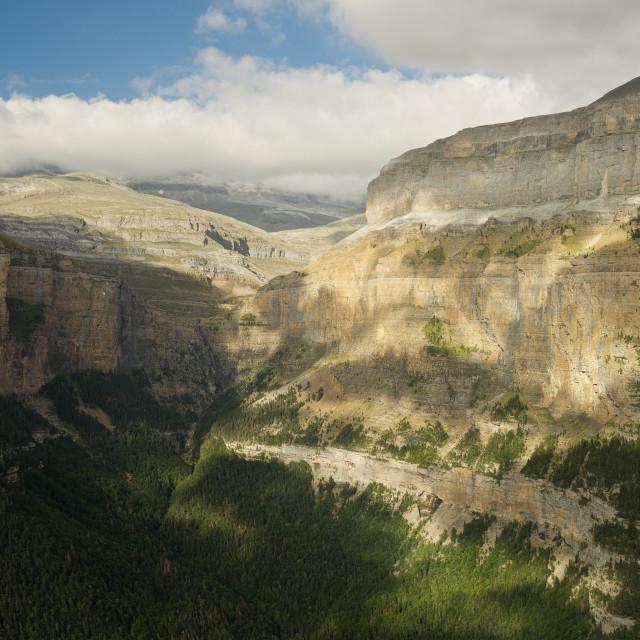 """Ordesa Valley"" stock image"