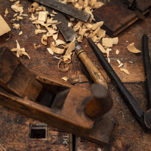 """""""tools for wooden art work"""" stock image"""