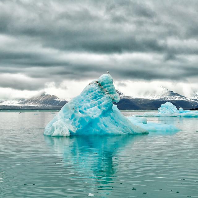 """glacier Kollerbreen"" stock image"