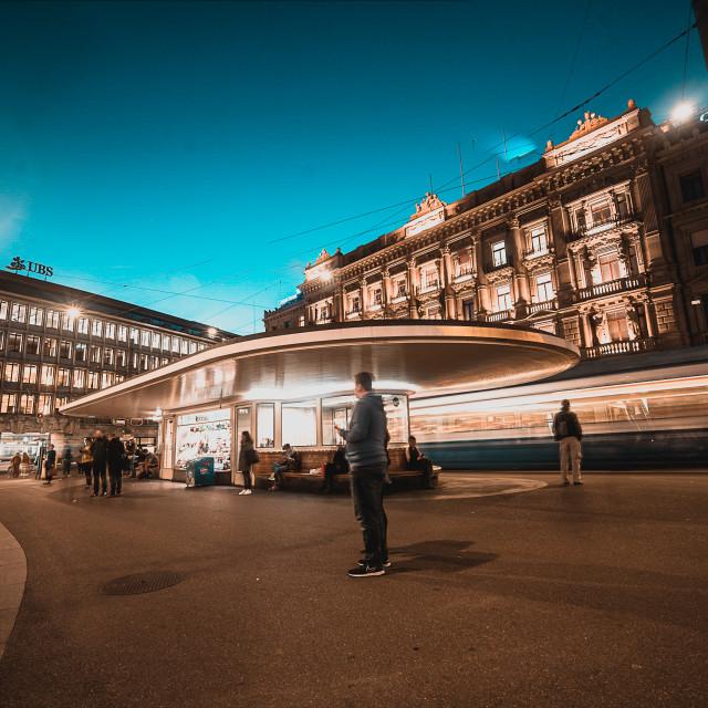 """Paradeplatz"" stock image"