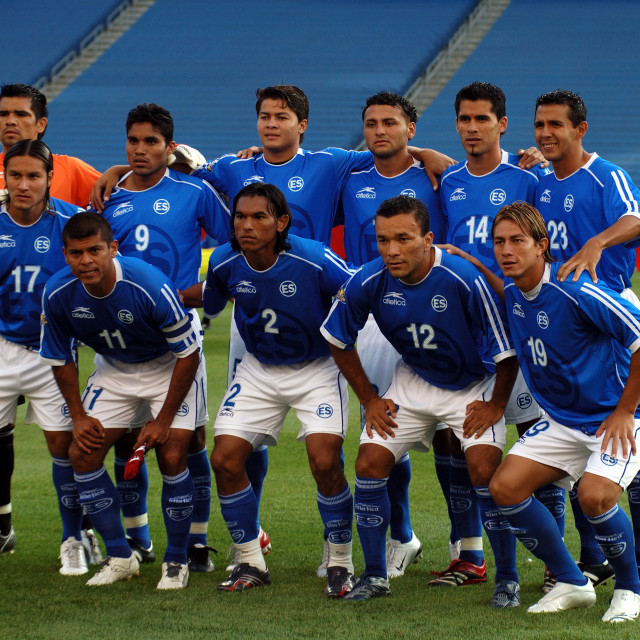 """Foxboro USA 12th June 2007: Concacaf Gold Cup Group Stage USA vs El Salvador..."" stock image"