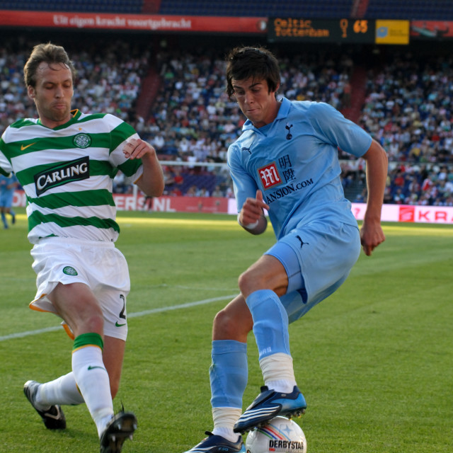"""Rotterdam The Netherlands 1st August 2008 Cletic Glasgow vs Tottenham Hotspur..."" stock image"