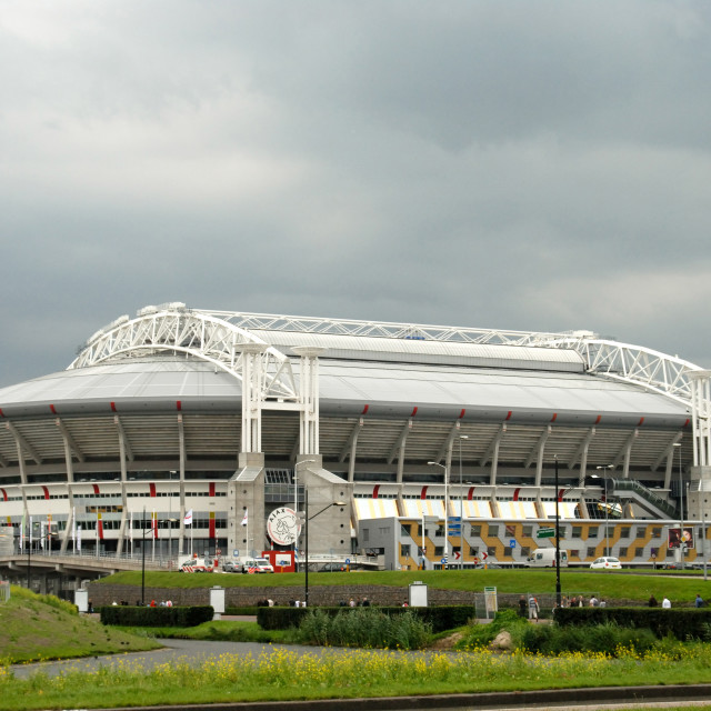 """""""Amsterdam The Netherlands Amsterdam Arena, home to AFC Ajax football club."""" stock image"""