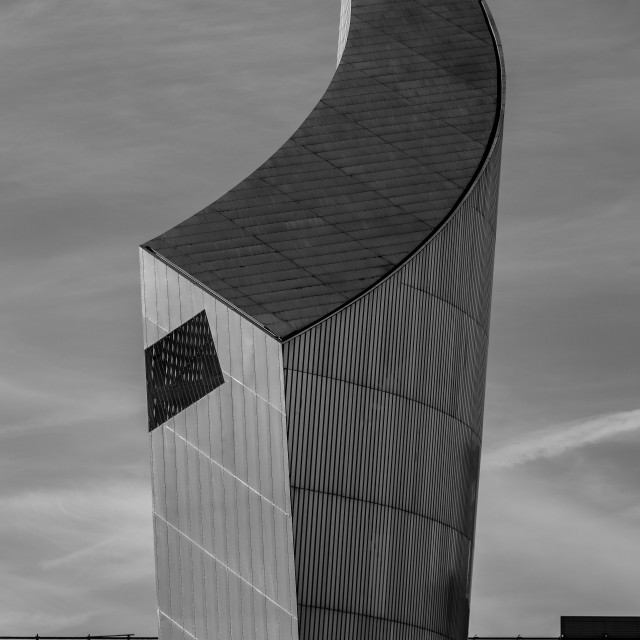 """Imperial War Museum Tower"" stock image"