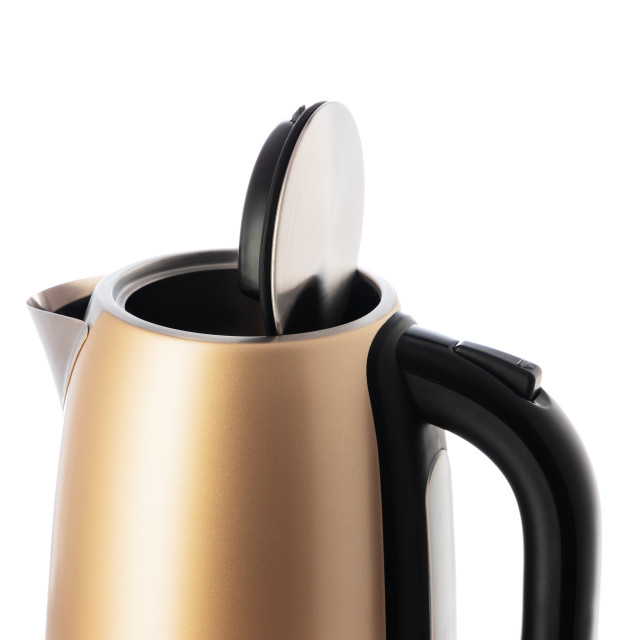 """Electric kettle jug isolated on white background"" stock image"