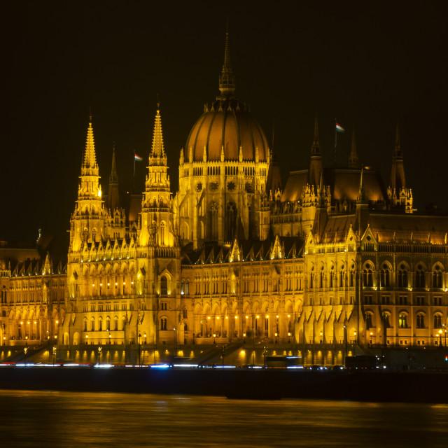 """Hungarian Parliament Building"" stock image"