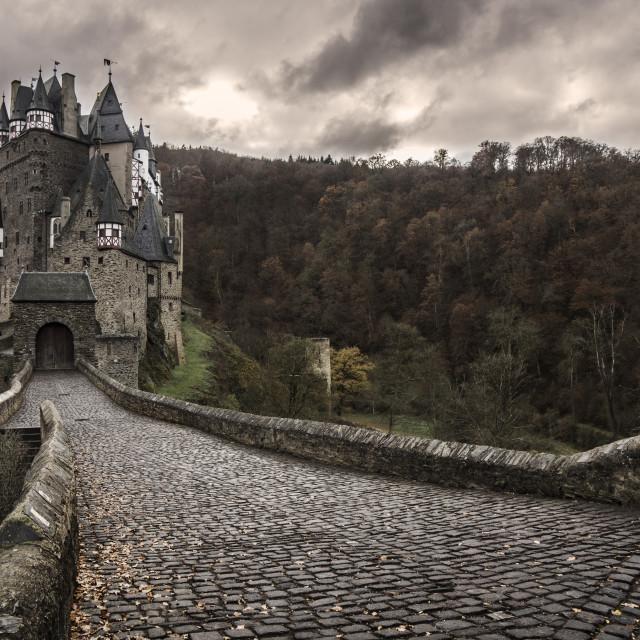 """Burg Eltz Castle"" stock image"