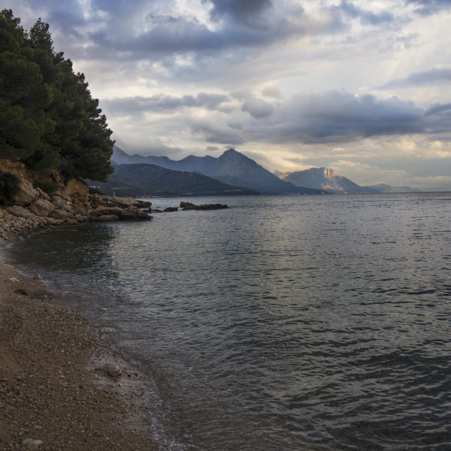 """Croatian coast"" stock image"